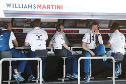 Paddy Lowe, Williams Formula 1, Rob Smedley, Head of Vehicle Performance, Williams, the Williams tea
