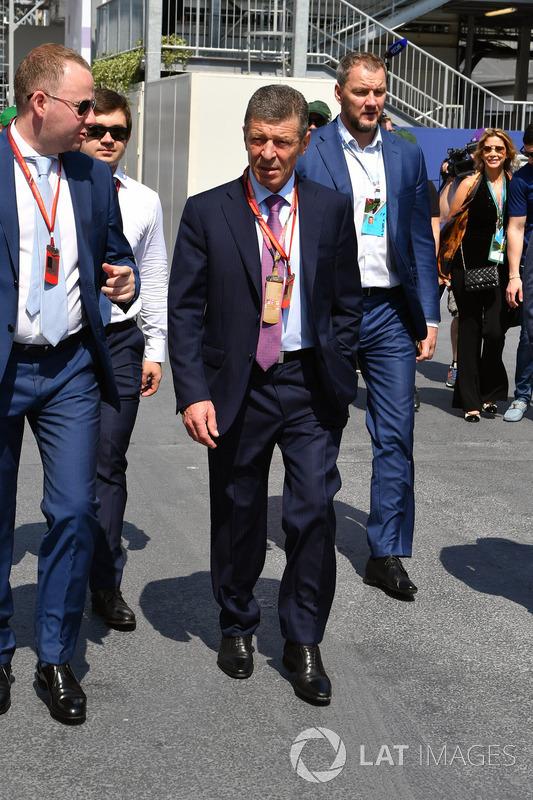 Dmitry Kozak, Stellvertretender Ministerpräsident Russland