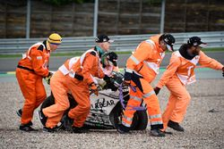Alvaro Bautista, Aspar Racing Team crash