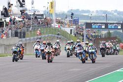 De start van de race