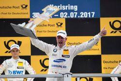 Podium: ganador, Maxime Martin, BMW Team RBM, BMW M4 DTM
