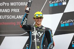 Podium: derde Francesco Bagnaia, Sky Racing Team VR46