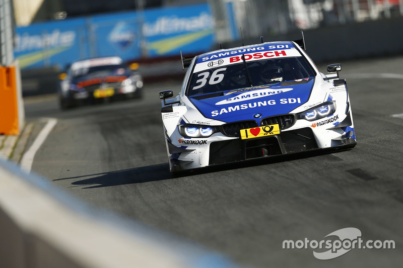 2. Maxime Martin, BMW Team RBM, BMW M4 DTM