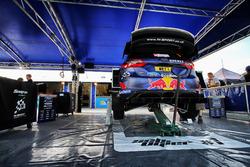 Coche de Sébastien Ogier, Julien Ingrassia, M-Sport, Ford Fiesta WRC