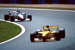 Ralf Schumacher, Jordan 197, David Coulthard, McLaren MP4/12
