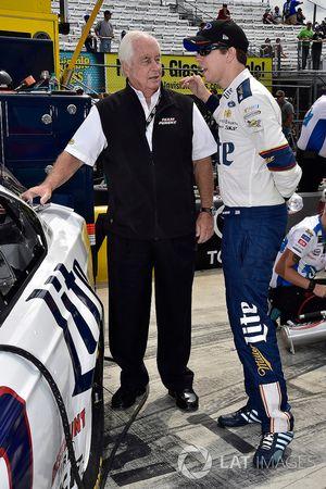 Brad Keselowski, Team Penske Ford, Roger Penske