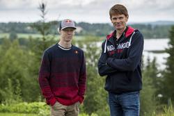 Kalle Rovanperä et Marcus Grönholm