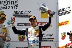 Podium: third place Fabio Scherer, US Racing