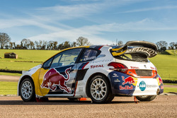Car of Kevin Hansen, Team Peugeot Hansen
