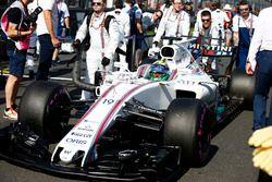 Felipe Massa, Williams FW40, op de grid