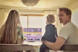 Nico Rosberg bersama keluarganya