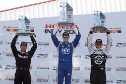 Podium: 1. Josef Newgarden, Team Penske Chevrolet; 2. Will Power, Team Penske Chevrolet; 3. Graham R