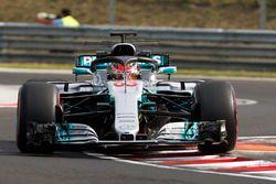 George Russell, Mercedes F1 W08 con el Halo