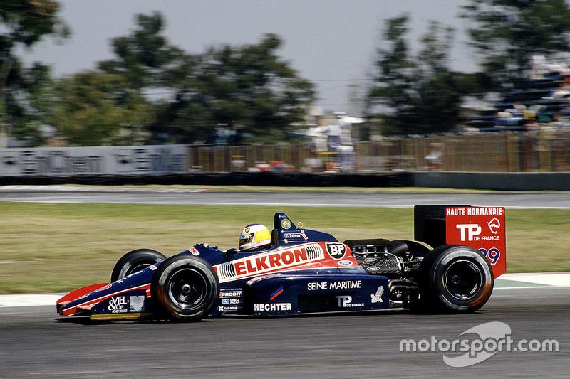 #29 : Yannick Dalmas, Larrousse/Lola LC87, Ford