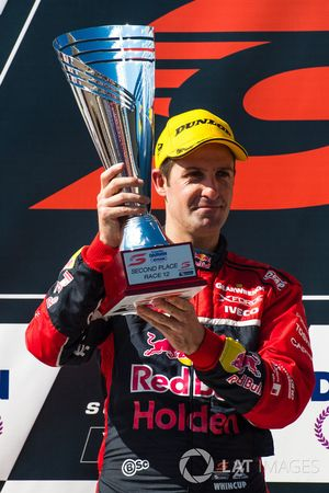 Podium: Second place Jamie Whincup, Triple Eight Race Engineering Holden