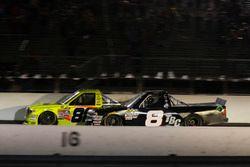 Matt Crafton, ThorSport Racing Toyota and John Hunter Nemechek, SWM-NEMCO Motorsports Chevrolet