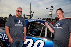Chase Briscoe, Brad Keselowski Racing Ford guests