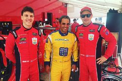 James Calado, Toni Vilander, Risi Competizione with Juan Pable Montoya