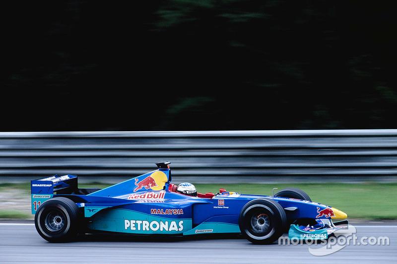 Jean Alesi, Sauber C18 Petronas, 1999