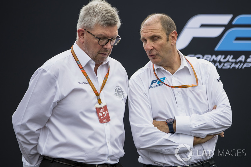 Ross Brawn and Bruno Michel