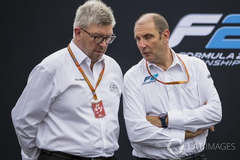 Ross Brawn dan Bruno Michel