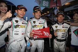#88 マネパ ランボルギーニ GT3の平峰一貴、織戸学、山西康司