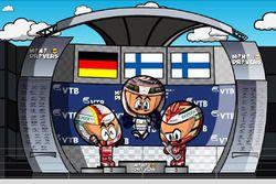 El GP de Rusia 2017 de F1 según Los Minidrivers