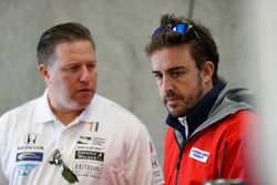 Zak Brown, CEO McLaren, Fernando Alonso, Andretti Autosport Honda