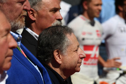 Jean Todt y Chase Carey