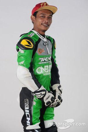 Pembalap Malaysian Cub Prix, Norizman Ismail