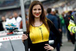 Chica de la parrilla de René Rast, Audi Sport Team Rosberg, Audi RS 5 DTM