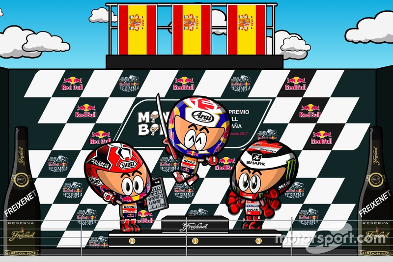 El GP de España 2017 de MotoGP según MiniBikers