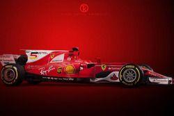 Büyük numaralar, Sebastian Vettel konspeti