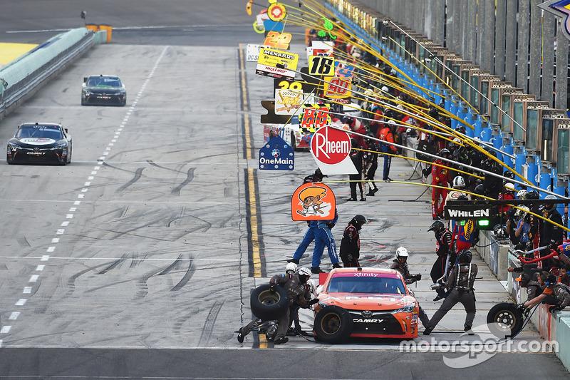 Pitstop de Daniel Suárez, Joe Gibbs Racing Toyota