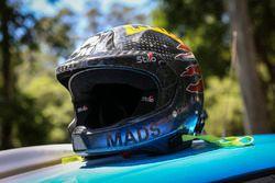 Mads Ostberg, M-Sport Ford Fiesta WRC helmet