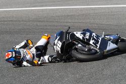Авария: Брэдли Смит, Red Bull KTM Factory Racing