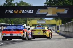 #87 TA2 Chevrolet Camaro, Rafael Matos, HP Tech Motorsports, #72 TA2 Chevrolet Camaro, Shane Lewis,