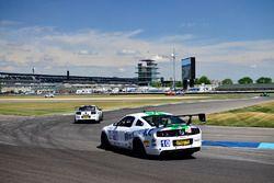 #00 TA4 Ford Mustang, James Pesek, PF/Rennsport KC Racing, #10 TA4 Ford Mustang, JR Pesek, PF/Rennsport KC Racing