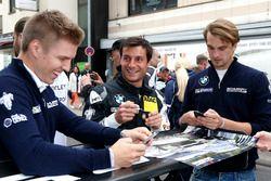 #20 BWM Team Schubert Motorsport, BMW M6 GT3: Bruno Spengler, Jesse Krohn, Jens Klingmann