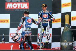 Podyum: 2. Florian Marino, Pata Yamaha Official STK 1000 Team, 3. Roberto Tamburini, Pata Yamaha Off