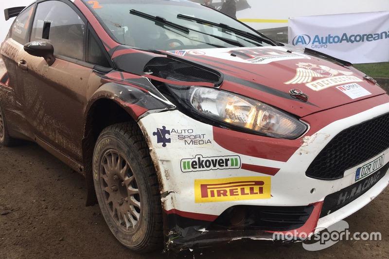 Ford Fiesta R5 Алексея Лукьянюка