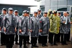 Paddock security keep dry in the conditions