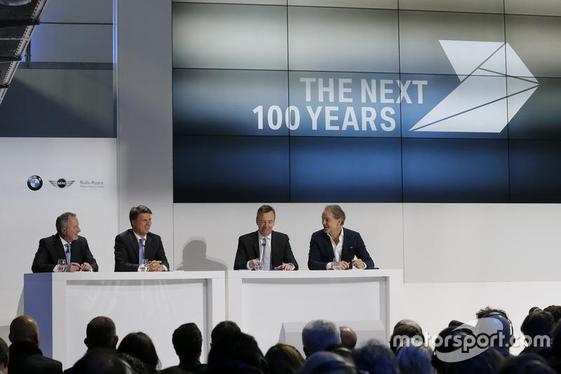Bill Mc Andrews, Harald Krüger, Maximilian Schöberl, Adrian van Hooydonk