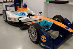 Team Aguri, nueva imagen Gulf Racing