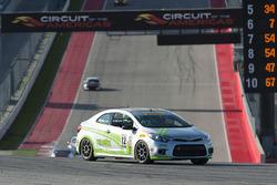 #12 Kinetic Motorsports Kia Forte Koup: Jason Wolfe