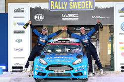 Third place Mads Ostberg, Ola Floene, M-Sport Ford