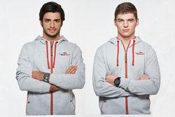 Carlos Sainz Jr. y Max Verstappen, Scuderia Toro Rosso