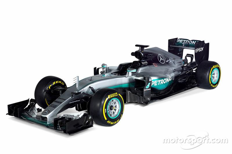 2016: Mercedes W07