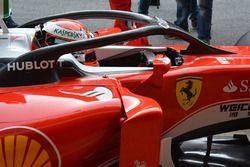 Kimi Räikkönen, Ferrari SF16-H mit dem F1 Halo Cockpit System