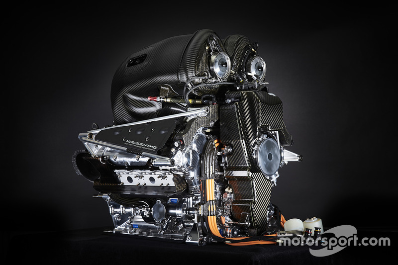 Motor del Mercedes AMG F1 W06